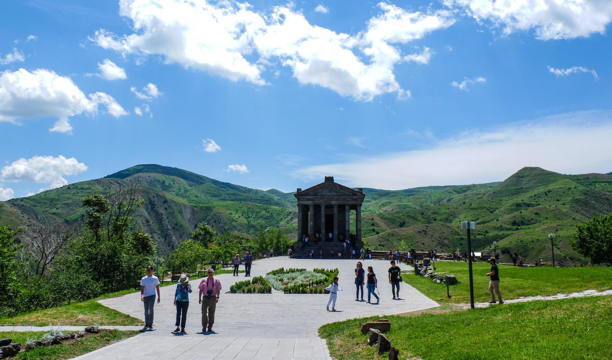 Temple of Garni, Armenia