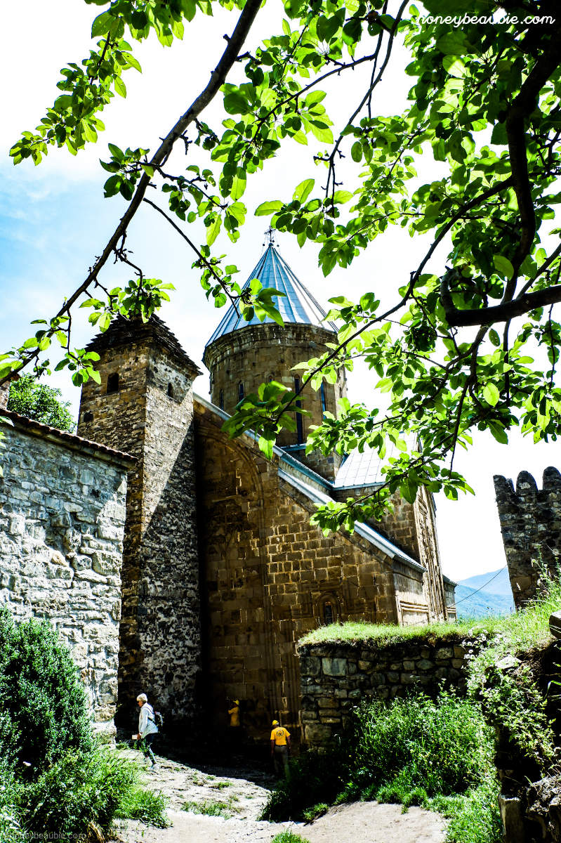 Ananuri Fortress from another angle.