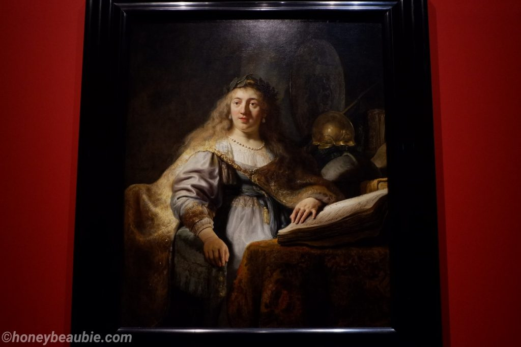 minerva-by-rembrandt-oil-on-canvas